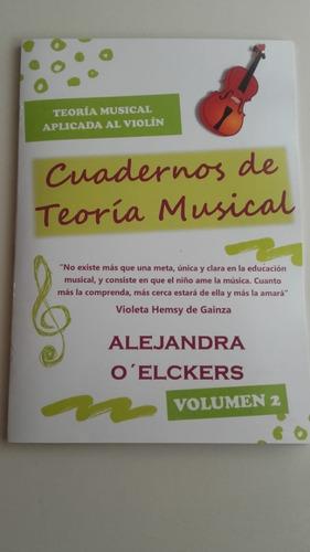 Imagen 1 de 6 de Cuaderno De Teoria Musical Para Violin - Volumen 2