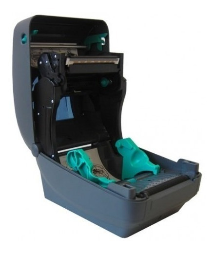 Impressora Zebra Gk420t Com Etiqueta E Ribon Incluso