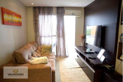 Imagem 1 de 30 de Apartamento À Venda, 87 M² Por R$ 470.000,00 - Santana - São José Dos Campos/sp - Ap0786
