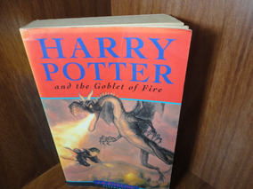 Livro - Harry Potter - And The Goblet Of Fire -ed Bloomsbury