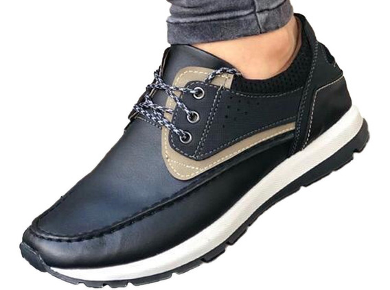 Zapato Mocasín Oxford Tenis Zapatilla Hombre