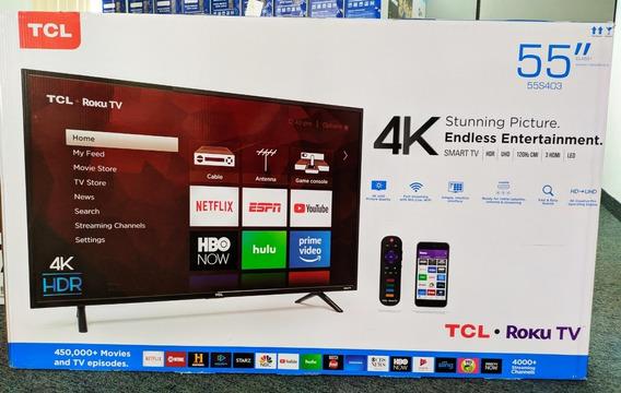 Smart Tv Tcl 55 Pulgadas Uhd 4k