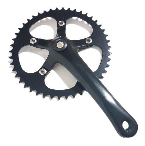 Palancas Y Engranaje 170mm 48 Dientes - Fixie Single Speed