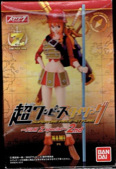 Figura One Piece Bandai Nami Film Z Special 2nd Jp