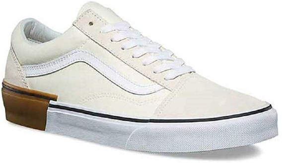 Tenis Vans Gum Block Old Skool Bege 41
