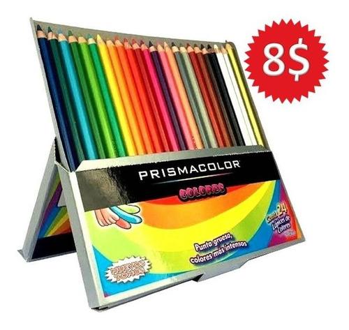 Creyones Prismacolor 24 Colores