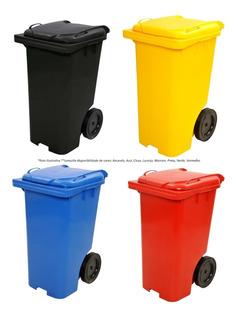 Conteiner Lixo 240 Litros Rodas E Tampa - Lixeira Grande