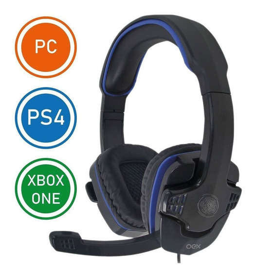 Headset Gamer Oex Stalker Hs-209 Compativel Ps4 Xbox Pc