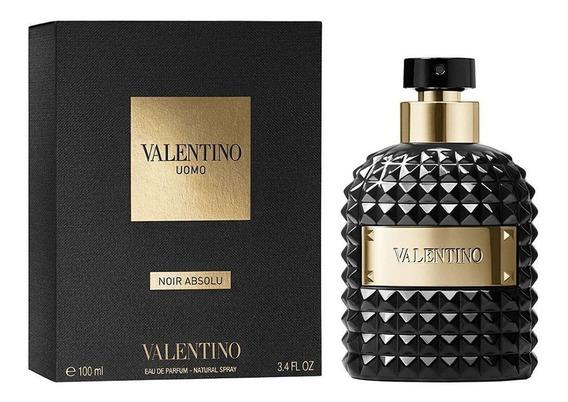 Perfume Valentino Uomo Noir Absolu 100ml Eau De Parfum