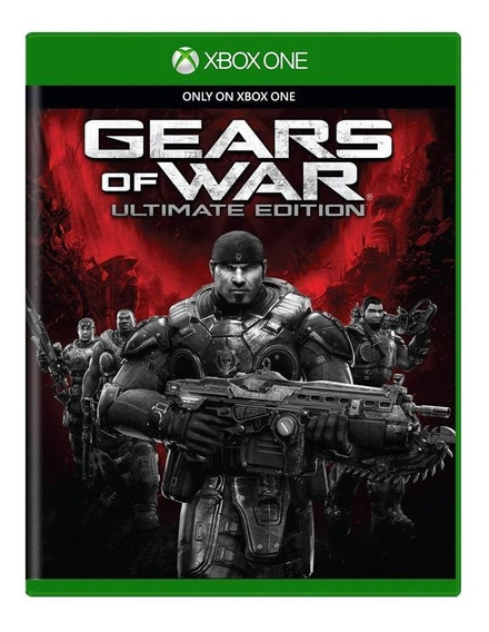 Gears Of War: Ultimate Edition - Xbox One - Física Lacrado