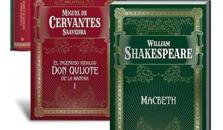 Biblioteca Cervantes Shakespeare - Don Quijote De La Mancha