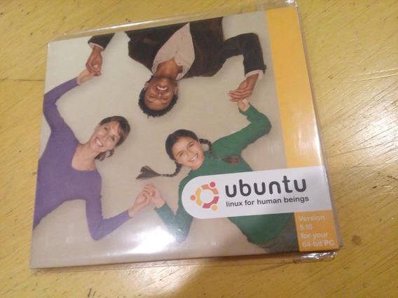 Ubuntu Cd Instalação Do Sistema Operacional Linux - Pc