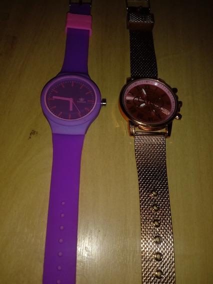 Relógio Feminino 2 Pelo Preço De 1