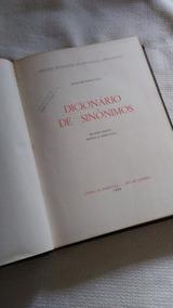 Dicionário De Sinônimos A.nascentes1969-leia Descrição