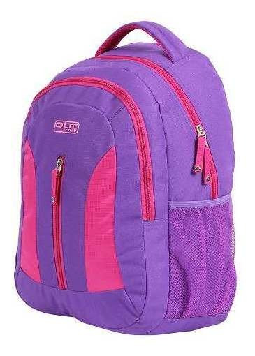 Mochila Escolar Notebook Girls Action Out De Costas Dermiwil