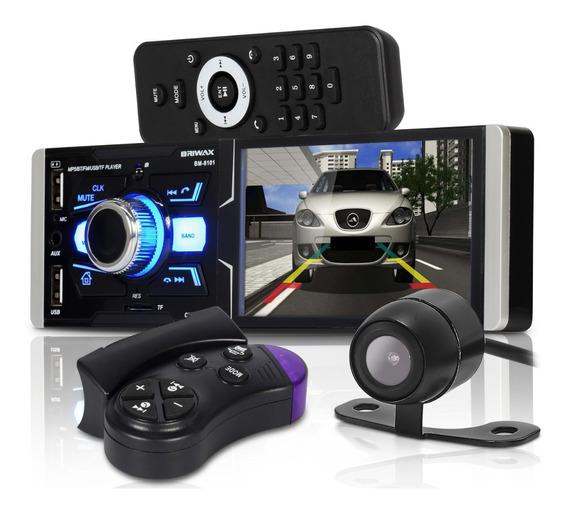 Auto Som Automotivo Rádio Mp5 Touch Espelhamento Câmera Ré