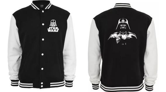 Jaqueta College Star Wars Darth Vader Moletom Blusa Casaco