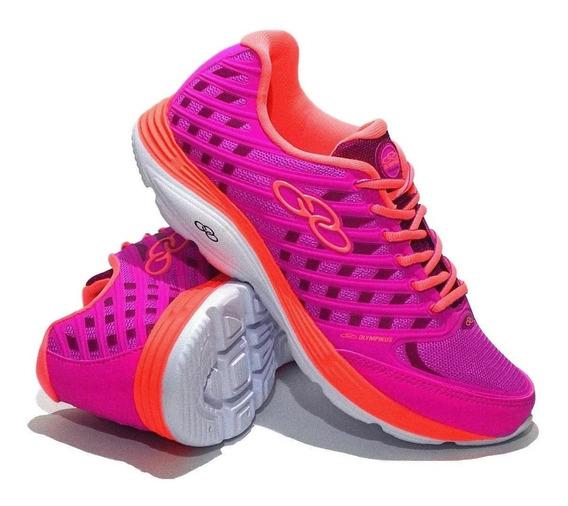 Zapatillas Olympikus G Flix Coral Mujer Cmncrl Running