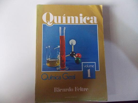 Ricardo Feltre Livro De Química Geral De 1982 = Vol Unico