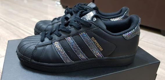Zapatillas adidas Súper Star (usadas) Talla 4.5 / 36.5