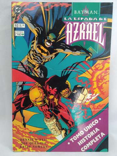Batman La Espada De Azrael Editorial Vid