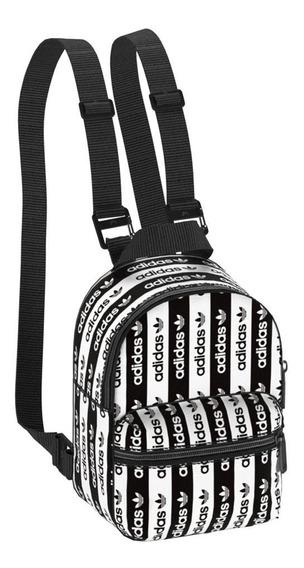 Mochila adidas Mini R.y.v Negro/blanco - Moda - Urbana