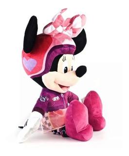 Peluche Minnie Serie Mickey Sobre Ruedas 50cm Original