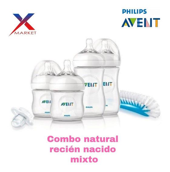 Combo Natural Recien Nacido Mixto Avent