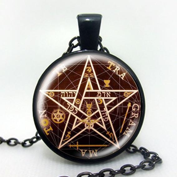 Pentagrama Esotérico (tetragram,proteção, Esoterismo,magia)