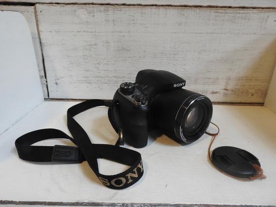 Câmera Sony Cyber-shot Dsc-h400 Usada Com Nota Fiscal
