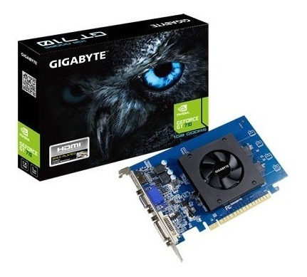 Placa De Video Vga Pci-e Geforce Gt710 Gigabyte Ddr5