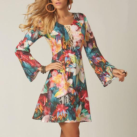 Vestido Tropicália Renda | Outletdafe