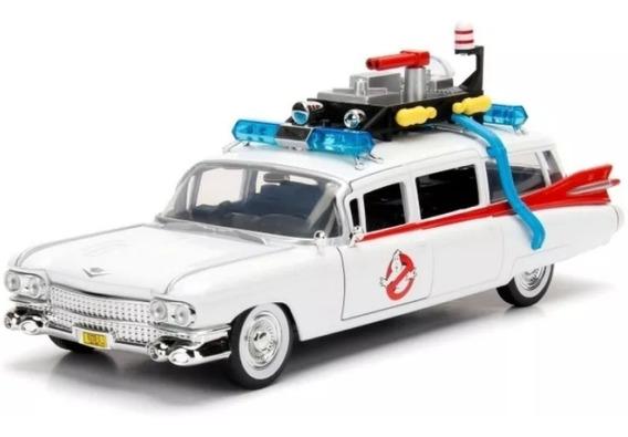 Miniatura Ghostbusters Ecto-1 Caça-fantasmas 1:24
