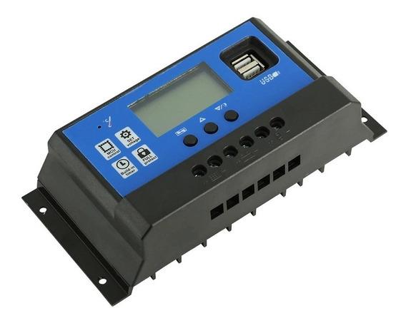 Controlador De Carga Solar 12/24v 60 Ampéres Pronta Entrega