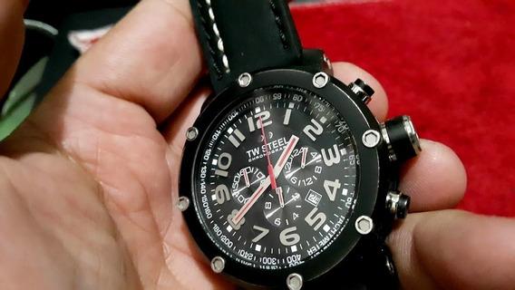 Relógio Tw Steel Tw 135 Grandeur Tech Preto