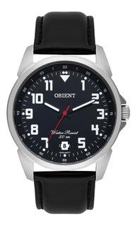 Relógio Orient Masculino Mbsc1031p2px Preto Pulseira Couro