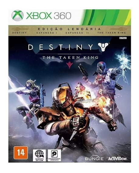 Destiny: The Taken King Ed. Lendária Xbox 360 - Mídia Física