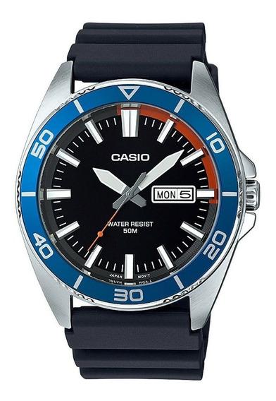 Relógio Casio Anos 90 Vintage Mtd-120-1av