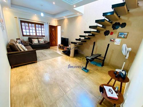 Sobrado Com 3 Dormitórios À Venda, 128 M² Por R$ 315.000,00 - Campos De São José - São José Dos Campos/sp - So0124