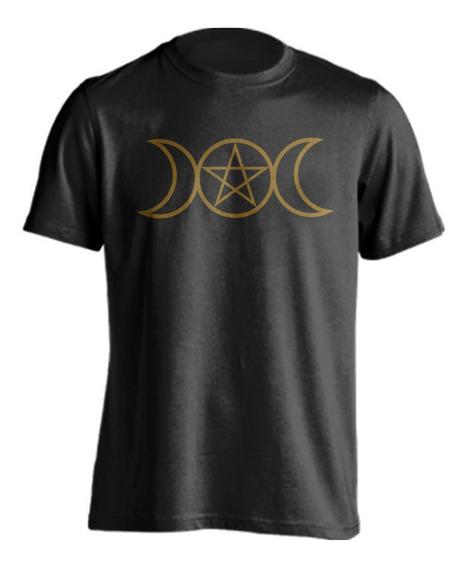 Playera Wicca Triple Diosa Gotico Dark Esoterismo Ocultismo