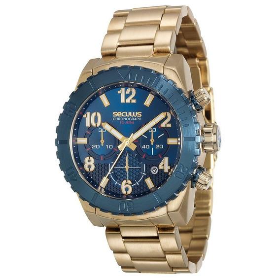 Relógio Seculus 13011gpsvla1