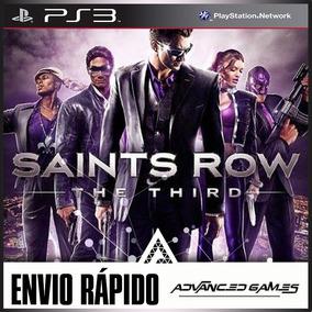 Saints Row The Third - Jogos Ps3 Psn Digital Envio Rapido