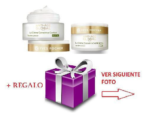 Imagen 1 de 3 de Oferta Set 2 Cremas Antiarrugas Anti-global Age Día Y Noche