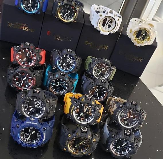 Relógio G_ Shock 10 Unidades Mais 10 Caixinhas Promoção
