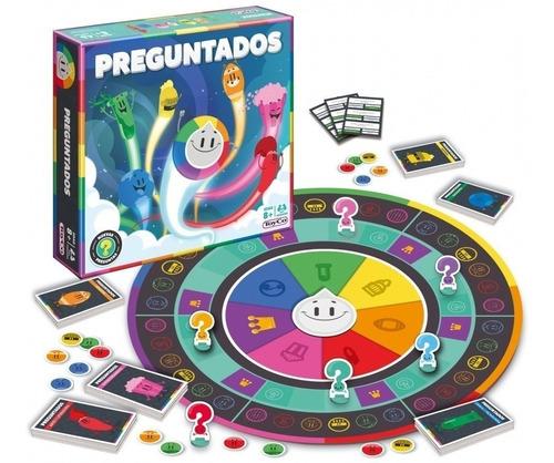 Imagen 1 de 4 de Juego De Mesa Preguntados Nueva Edición Toy Co