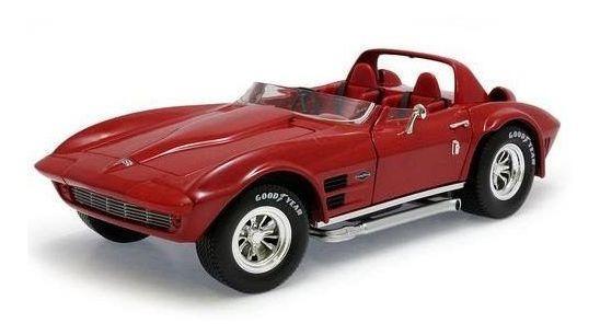 1964 Chevrolet Corvette Grand Sport Vermelho - 1:18 Yat Ming