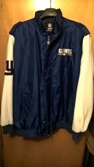 Chamarra Nfl- Giants New York Seminueva Tallaxl Azul/blanco