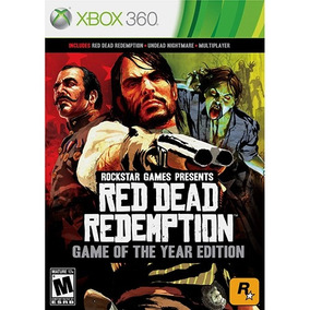 Red Dead Redemption Game The Year Xbox 360 Mídia Física Novo