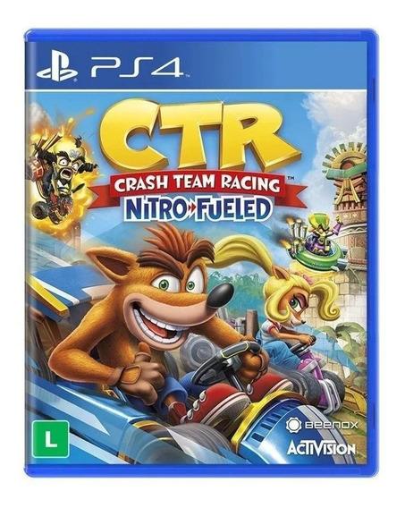 Crash Ctr Team Racing Nitro Fueled Ps4 - Mídia Fisica