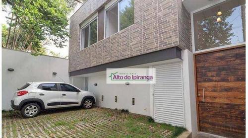 Sobrado Com 3 Dormitórios Para Alugar, 300 M² - Brooklin Paulista - São Paulo/sp - So1000